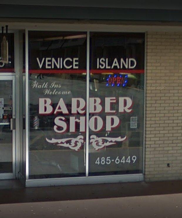 Venice Island Barber