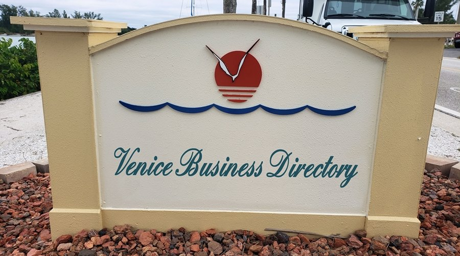 Venice Business Directory road sign - Venice Business